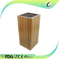 China Hot selling bamboo wood knife block for sale on sale