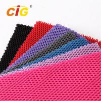 Abrasion - Resistant Upholstery 100% Polyester Mesh Fabric for Garment Manufactures