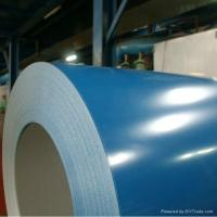 China 0.3~0.8mm Thickness Surface Treatment Galvanized Color Coated Steel Sheet on sale