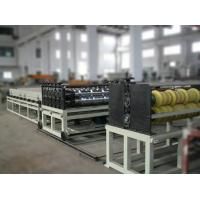 Automatic Plastic Transparent Roof Sheet Making Machine for Canopy / Industrial Roofing Manufactures