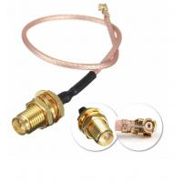 China DC To 6GHz Coaxial Cable Connectors , RG316 Waterproof Sma Connector on sale