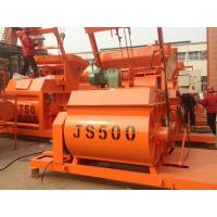 China High Quality China Manufacturer JS500 Twin Shaft Concrete Mixer Machine For Sale on sale