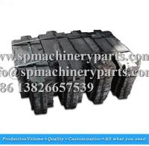 China Large capacity machine-room-less passenger mitsubishi elevator parts grey iron cast filler block 47KG on sale