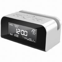 Air Quality Detector Clock Radio with LCD Display and Dual Alarm Manufactures