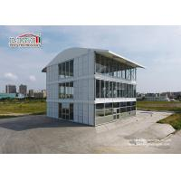 15x15m Aluminum Frame Triple Decker Three Story Tent Structure Three Storey Floors Marquee Manufactures