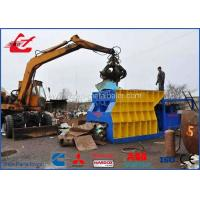 China Container Type Scrap Metal Recycling Machine , Scrap Cutter Machine For Metal Steel Scrap HMS 1&2 on sale