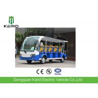 11 persons Battery Operated Electric Shuttle Bus 7.5KW 72V Motor Manufactures