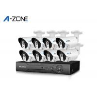 """Home Security 4 Channel Nvr Camera System Metal Bullet 1/2.7"""" With Bracket Manufactures"""