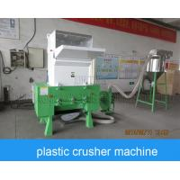Waste Pe Pp Pet Plastic Crushing Machine , Plastic Bottle Recycling Machine Manufactures