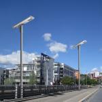 50 Watt Solar Street Light With LiFePO4 Battery High Output Lumen Manufactures
