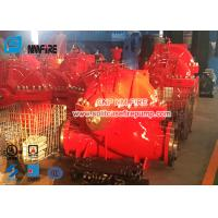 UL / FM Airport Use Diesel Engine Driven Fire Pump Set With Single Stage Split Case Fire Pump 1500gpm @ 140-175PSI Manufactures
