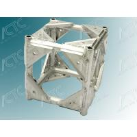 Six Sided Corner Aluminum Truss Accessories For Bolt Truss Strong / Durable Manufactures