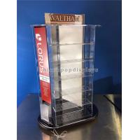 Tabletop Rotating Acrylic Display Case , 3-Way Pocket Watch Display Case Manufactures