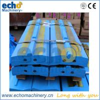 China abrasion resistant impact bars and liners for Kleemann MR 130 EVO crusher on sale