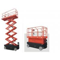 China 300kg , 10m Mobile Electric Lifting Platform , pallet scissor lift platforms on sale