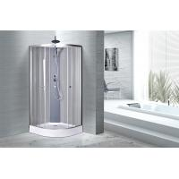 China 850 X 850 Quadrant Shower Enclosure With Tray , Quadrant Shower Cabin on sale