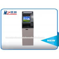 Bill Acceptor Self Payment ATM Kiosk Terminal Machine For Home / Bank / Railway Station Manufactures