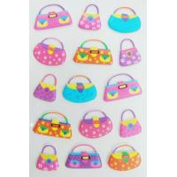 China Pretty Handbag Design 3D Foam Stickers For Room Decor OEM & ODM Available on sale