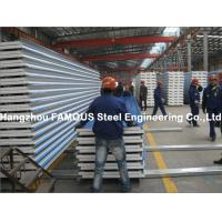 Corrugated Steel Roofing Sheet Metal Roofing Sheets Sandwich Panel EPS PU Rock Wool Manufactures