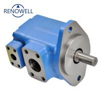 Hydraulic Vickers Vane Pump , Skid Steer Hydraulic Pump With High Performance Manufactures