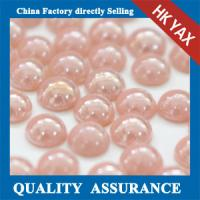 Quality Ceramic pearl hotfix stone,hot fix stone for decoration,hotfix stone Ceramic pearl 0825 for sale