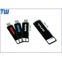 Personalized Sliding LED Light LOGO Shinning 64GB USB Drives Stick Manufactures