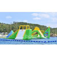 Giant Inflatable Aqua Park Sports Equipment / Inflatable Water Park Games For Sea Manufactures