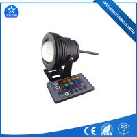 Convex Black Shell 10W 12V High Waterproof IP68 RGB LED Underwater Light for Swimming Pools Manufactures