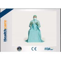 Quality T.U.R Dispoable Surgical Gown Urology Surgery blue colour SMS EO Sterile for sale