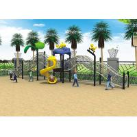 Big Style Kids Garden Swing Set , Rope Climbing Childrens Garden Swing Slide Set Manufactures