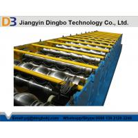 50Hz Steel Tile Forming Machine with Compture Control System , Cr12mov Blade Manufactures