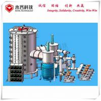 Stainless Steel Sheets Vacuum Coating Equipment , Large size SS sheets Multi Arc Coating Machine Manufactures