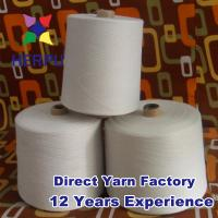 Quality polyester and cotton blended yarn 65/35 ne45/1 for sale