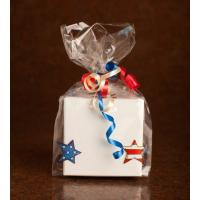 Clear Chocolate Food Packaging Pouch / Christmas Cello Gift Bag Manufactures