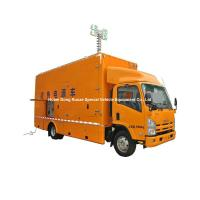 ISUZU Mobile Generator Truck For Emergency Power Supply 200kw 50hz 3 Phase 220V Unit Manufactures