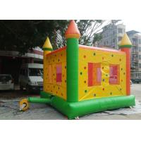 Anti - Fade Inflatable Jumping Blow Up Castle Excellent Design 750W Air Blower Manufactures