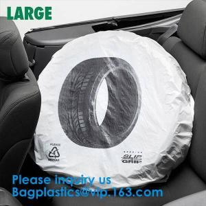 China Packaging Gusset 0.008 Gauge Tyre Storage Bags on sale