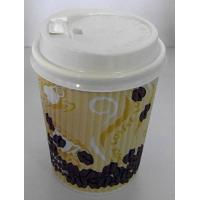 Logo Printed Disposable Paper Cups Single Wall With PE Coated , 22 Oz Paper Cups Manufactures