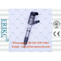 China ERIKC  0 445 110 383 genuine common rail injector bosch 0445110383 fuel truck inyectores 0445 110 383 for ChaoChai on sale