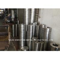 ASTM 316 Mirror Finish Stainless Steel Pipe Flanges Multiple Color Customized Design Manufactures