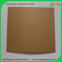 BMPAPER one side coated kraft liner test liner paper made of waste paper for cement bags Manufactures