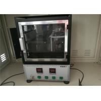 Fabric Horizontal Flammability Tester Auto Interior , Plastic Industry Fmvss 302 Flammability Rating Manufactures