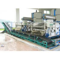 Belt Sludge Dewatering Filter Press , Mechanical Filter Press Manufactures