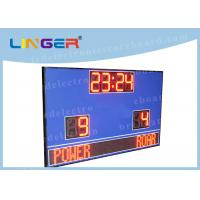 Waterproof Cabinet With Wireless Controller Led Football Scoreboard for Outdoor Use Manufactures