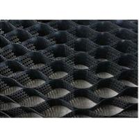 China Black Color Hdpe Geocell Virgin Plastic Honeycomb Shape For Parking Lot on sale
