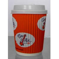 Food Grade Single Wall Paper Cups With Double Side PE Coated Color Optional Manufactures