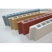 Natural Color Terracotta Panels Facade Cladding Materials With Low Maintenance Manufactures