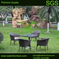 5PCS wicker cafe chair set Manufactures