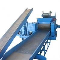 PLC Tyre Crushing Machine Tire Recycling Plant For Rubber Strips Manufactures