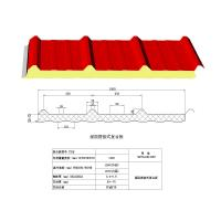 Exterior Decorative Insulation Wall Panels / PUR sandwich decorative board Manufactures